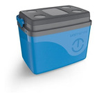 Caixa Térmica Cooler 30L  6 Garrafas 45 Latas Alça Azul