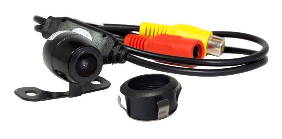 Câmera De Ré 2x1 Borboleta Alta Definição Roadstar Rs-121br