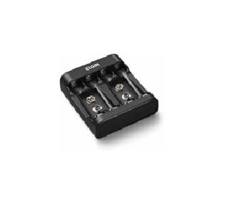 Carregador De Pilhas E Bateria Elgin C/ Usb E 2 Pilhas AA