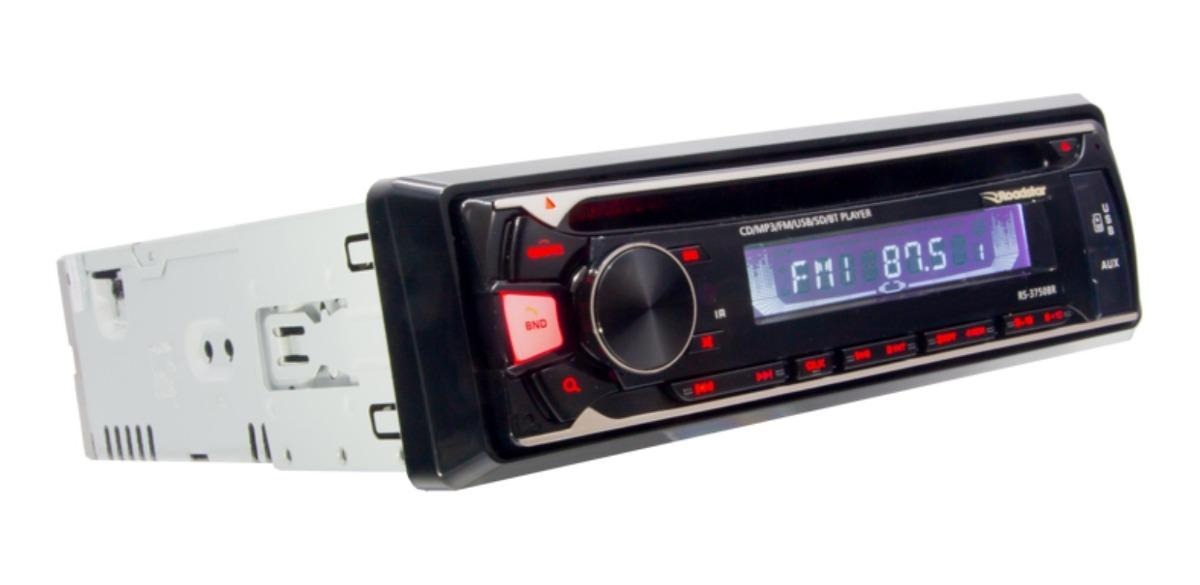 Cd Player Roadstar Mp3 Usb Com Bluetooth Rs3750