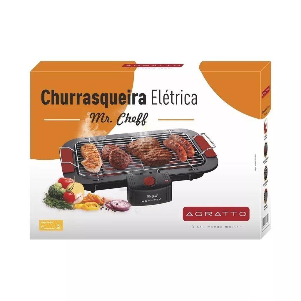 Churrasqueira Elétrica Grill Mr Cheff Super Agratto