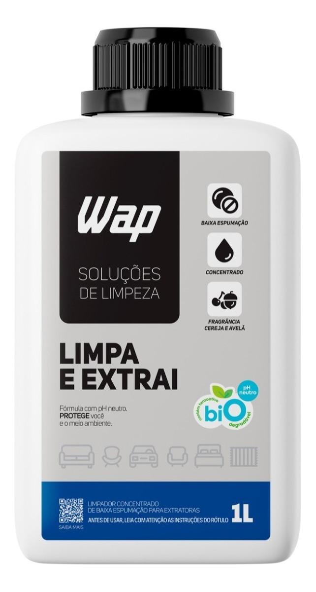 Detergente Extratoras Estofado Tapete 1 L Limpa E Extrai Wap