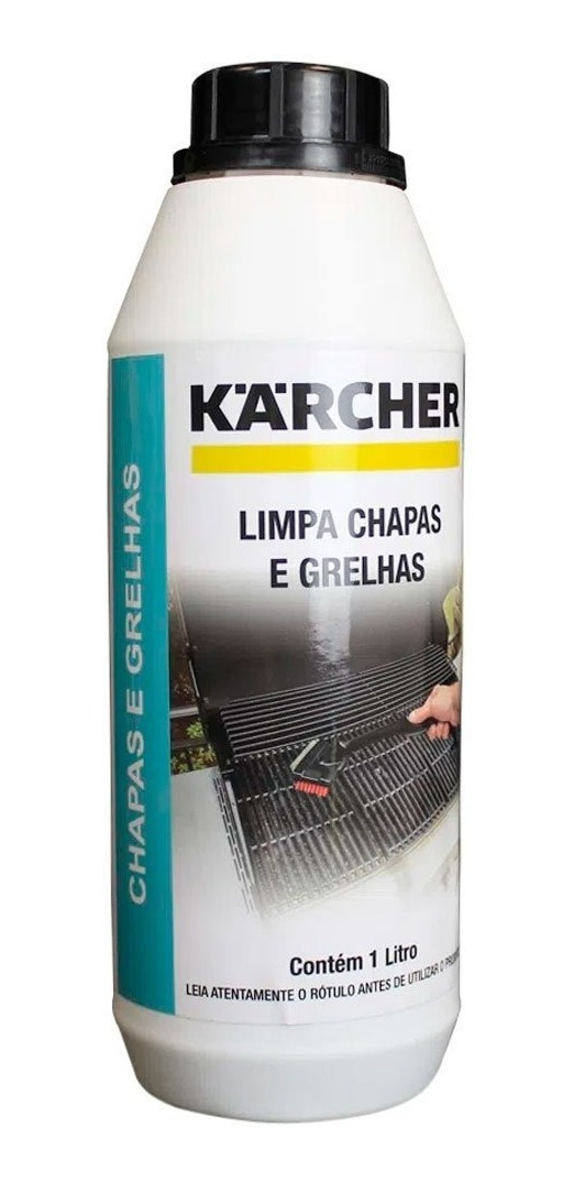 Detergente Limpador Limpa Chapas E Grelhas 1 Litro Karcher