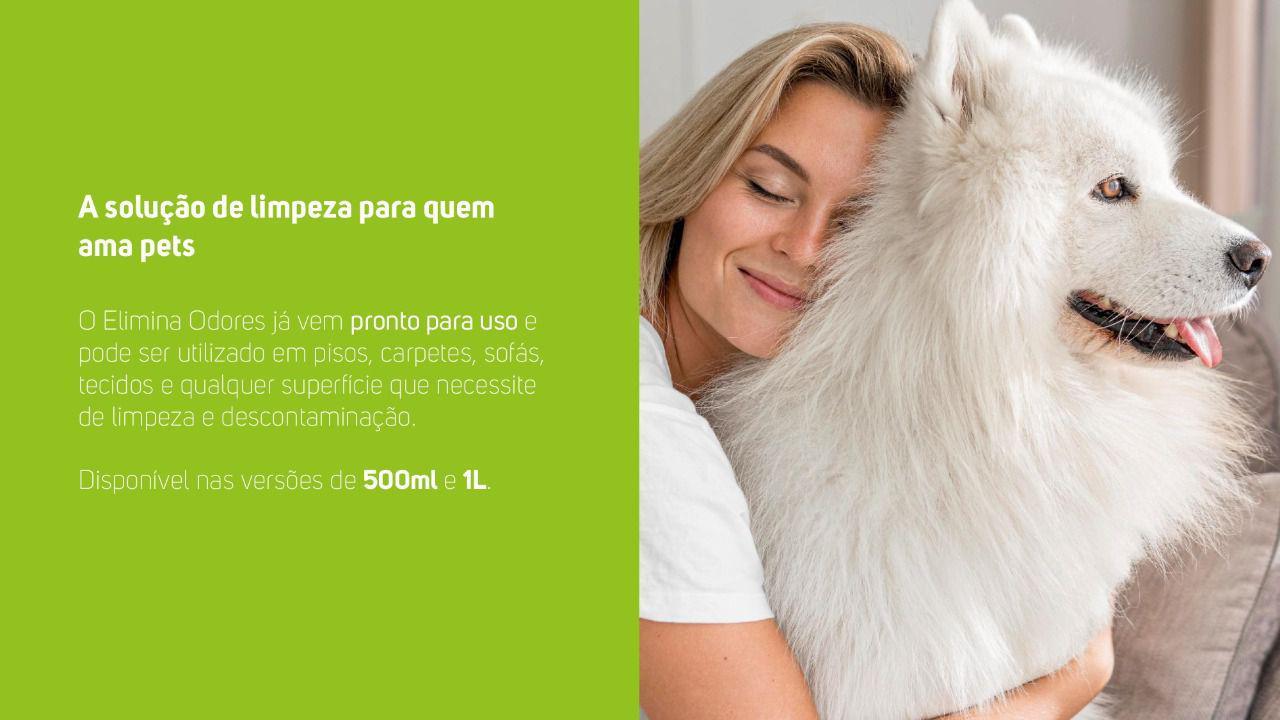 Eliminador De Odores E Pegadas Pets Odor Block 1 L Bio Wap