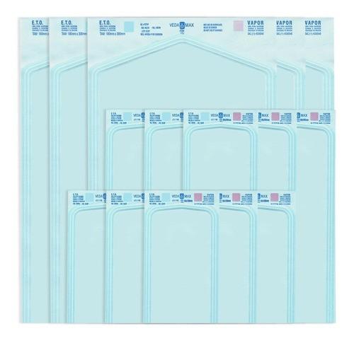 Envelope Autosselante Esterilização Alicate 9 X 23 Cm 100pc