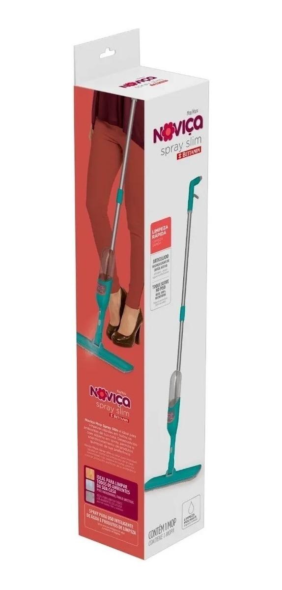 Esfregão Mop Spray Noviça Slim Rodo Bt1812 Bettanin