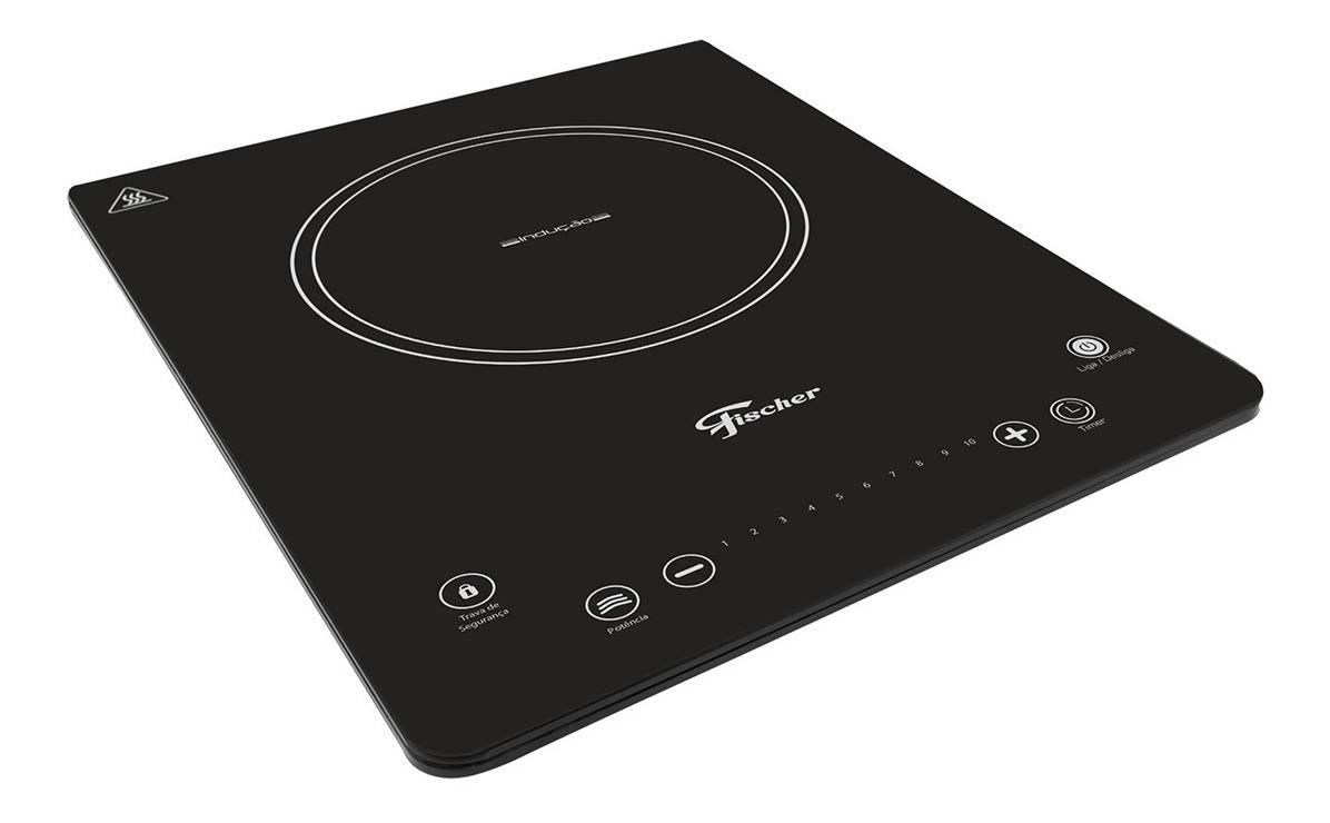 Fogão cooktop elétrico Fischer 26884 preto 127V