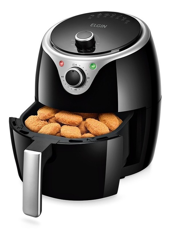 Fritadeira Elétrica Sem Óleo Flash Fryer Elgin 3,5L