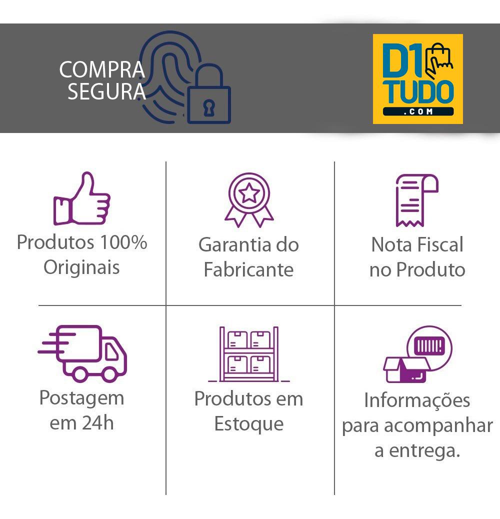 Garrafa Térmica Preta Unitermi Pressão 1l Chimarrão Café Chá