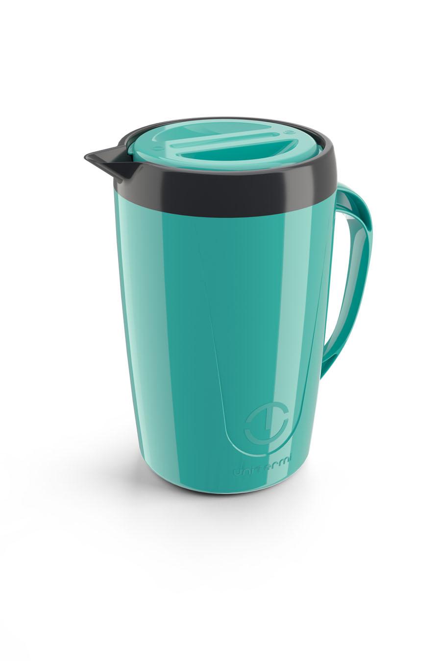 Jarra Térmica Caribe 2 Litros Verde Suco Agua Chá Unitermi