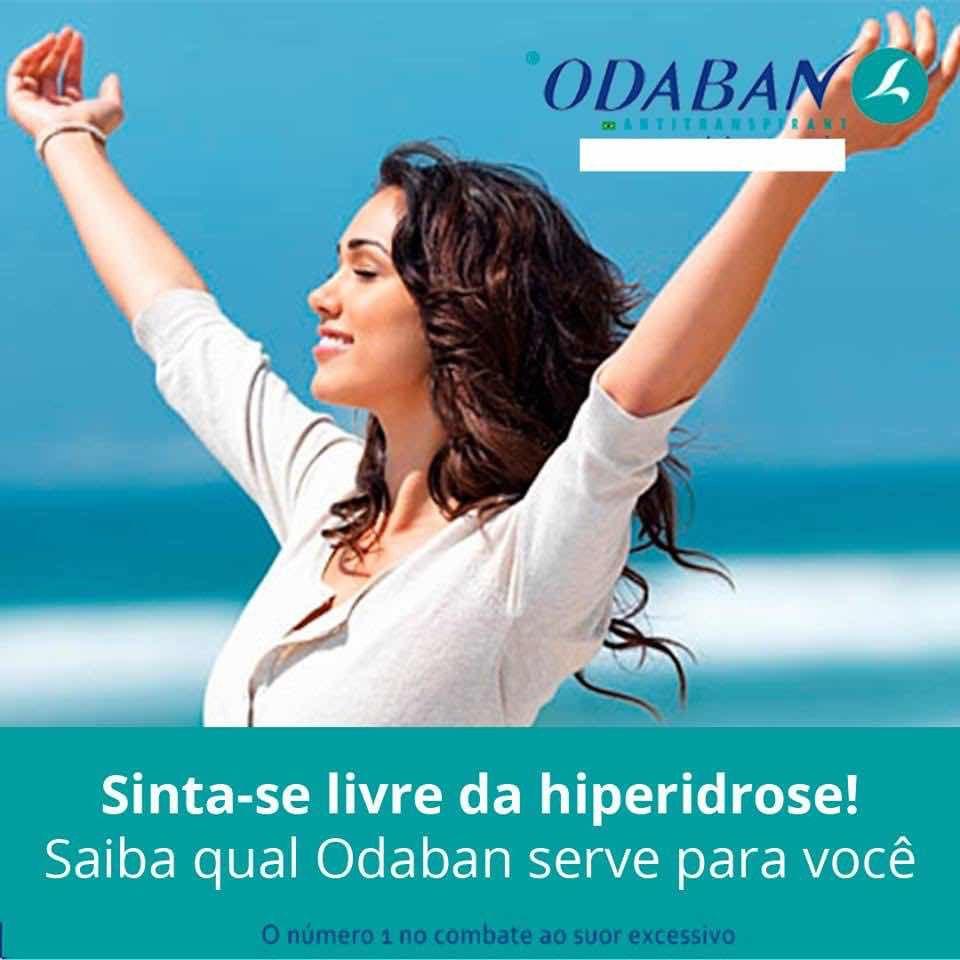 Kit 2 Odaban Spray 30ml Original E Oficial Pronta Entrega