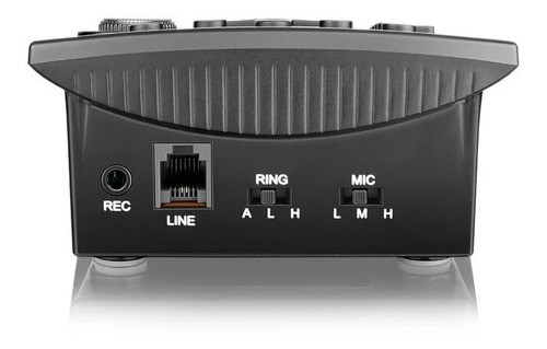 Kit C 2 Telefone Headset Com Identificador Chamadas Hst-8000