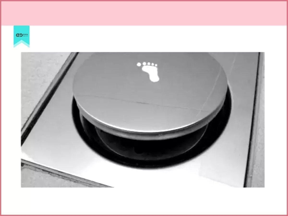 Kit Com 5 Ralos Inteligentes Click Up Clic 15x15 Inox