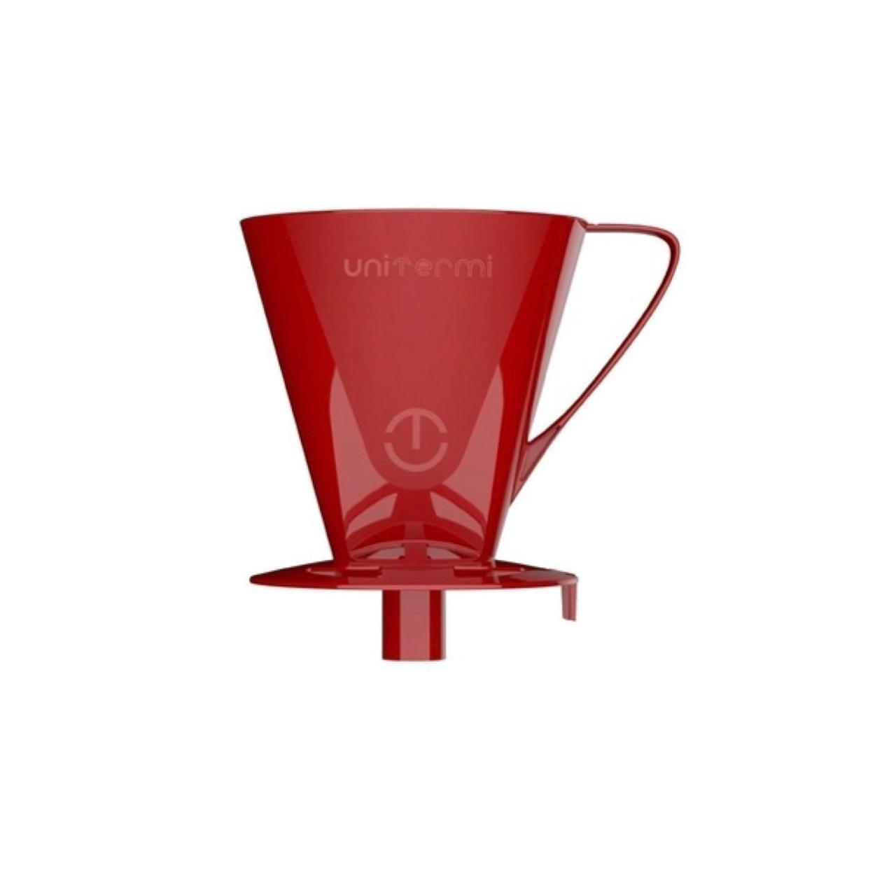 Kit Prático Café Garrafa Açucareiro Suporte Filtro Unitermi