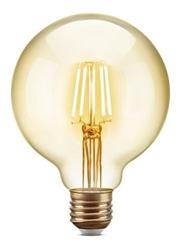 Lâmpada Filamento Led Vintage G95 E27 4w 2200k Elgin Bivolt