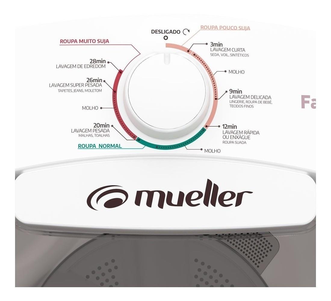Lavadora de Roupas Semi-automática Mueller Family Lite 10kg