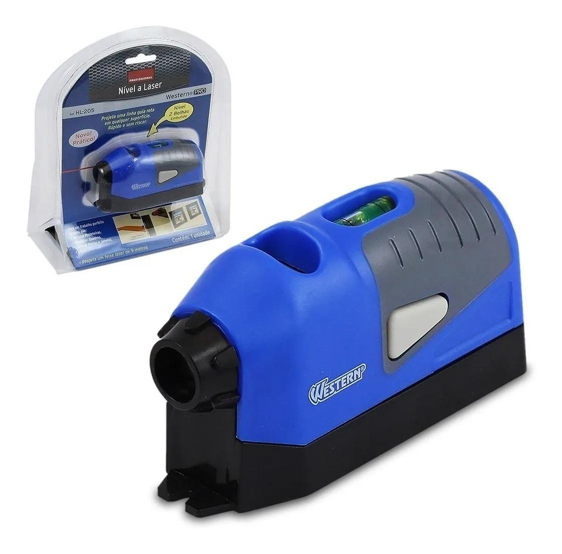 Nível Laser 2 Bolhas C/ Alta Precisão 9mt Profisional Barato