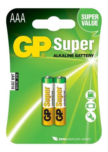 Pilha Aaa  Palito C/2 Alcalina Gp Super