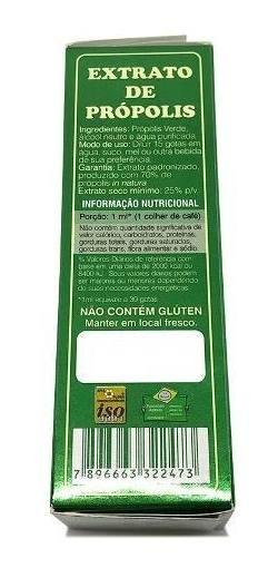 Própolis Verde 70% Em Extrato 30ml Melhore A Imunidade