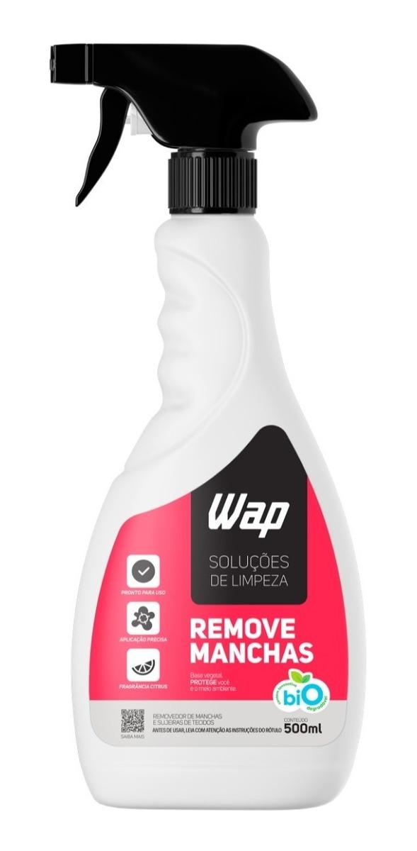 Removedor De Manchas Estofados Tapetes Tecidos 500ml Wap Bio