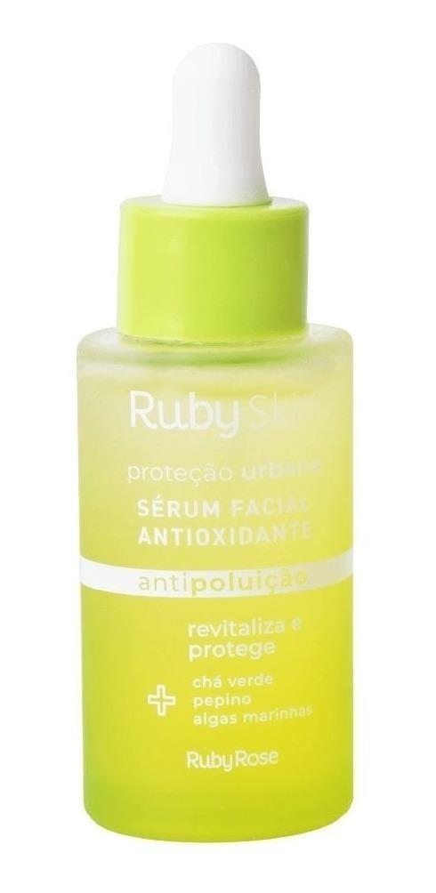 Sérum Facial Antioxidante Proteção Urbana Vegano Ruby Rose