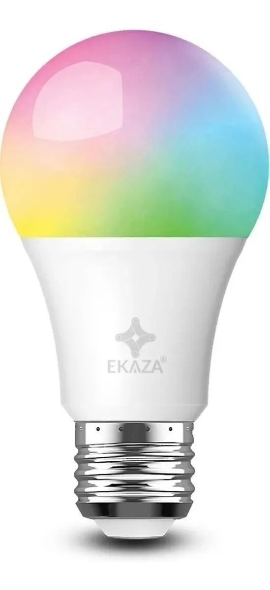 Smart Lâmpada Inteligente 10w+3w 1050lumens Wifi Ekaza Alexa