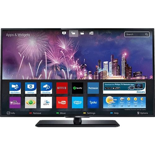 Smart TV FULL HD 43 Com Conversor Digital Philips LED 43PFG5102/78