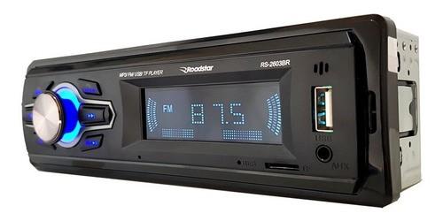 Som Automotivo Bluetooth Roadstar Rs-2603 Usb Fm Sd