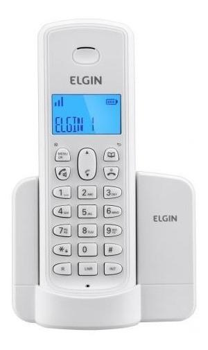 Telefone sem Fio Elgin TSF 8001 + Bina + Viva Voz