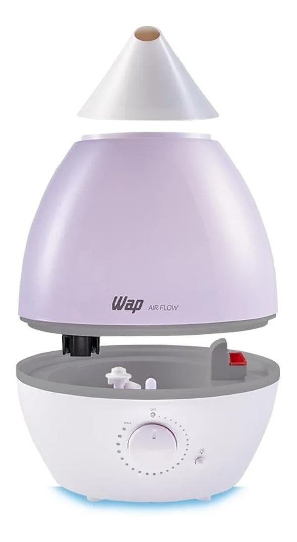 Umidificador De Ar E Difusor Com Luminária Wap Air Flow