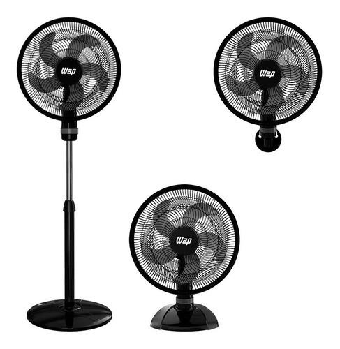 Ventilador 3 Em 1 Rajada Turbo W130 50cm - Wap 110V