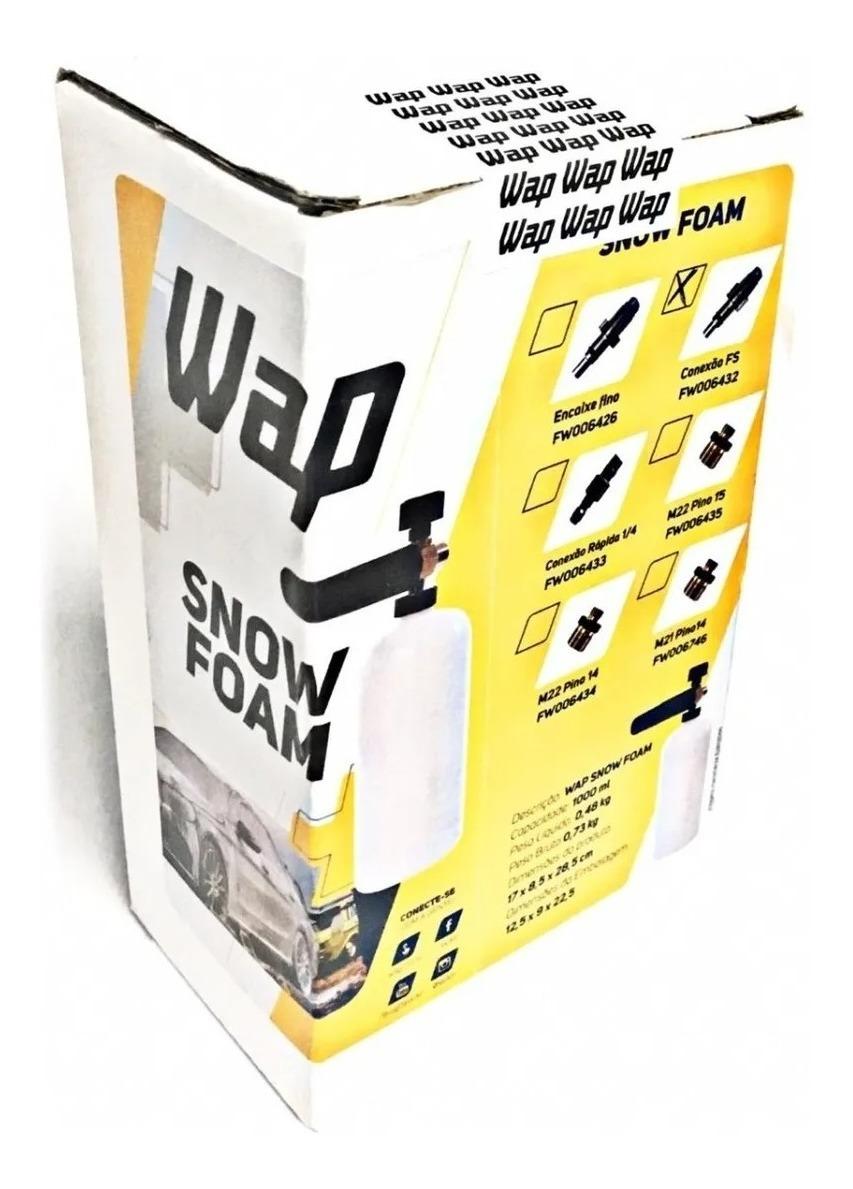 Wap Snow Foam Encaixe Largo Fw006432