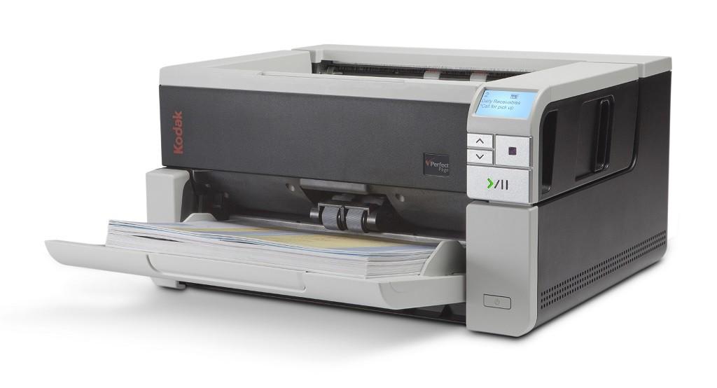 Scanner A3 Kodak i3500 - 110 ppm, ADF para 400 folhas e Ciclo de 35.000 folhas/dia