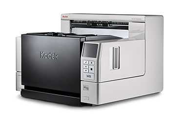 Scanner A3 Kodak i4250 - 110 ppm, ADF para 500 folhas e Ciclo de 40000 folhas/dia