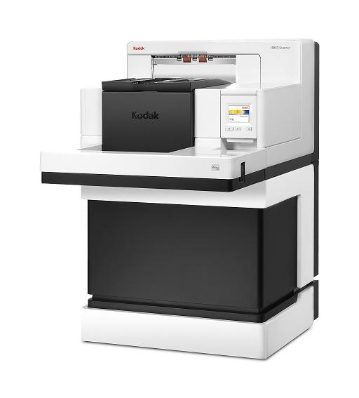 Scanner A3 Kodak i5850 - 210 ppm, ADF para 750 folhas e Ciclo diário: Sem limite