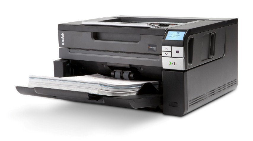 Scanner A4 Kodak i2900 c/ Mesa - 60 ppm, ADF para 250 folhas e Ciclo de 10000 folhas/dia