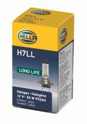 LAMPADA IODO H7 12V 55W LONG LIFE