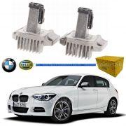 REATOR LED FAROL BMW SERIE 1 116I 118I 120I 125I 135I DRL ANGEL EYES ORIGINAL HELLA