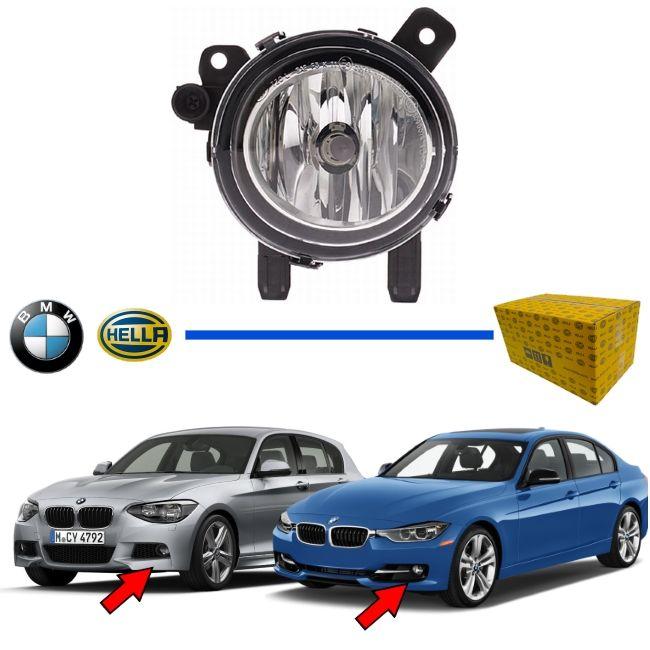 FAROL AUXILIAR DE NEBLINA MILHA BMW - SERIE 1 / SERIE 2 / SERIE 3 / SERIE 4 - 116I / 118I / 120I / 125I / M 135I / M 235i / 316I / 320I / 328I / 330I / 340I / 420I / 428I / 430I /435I - ORIGINAL