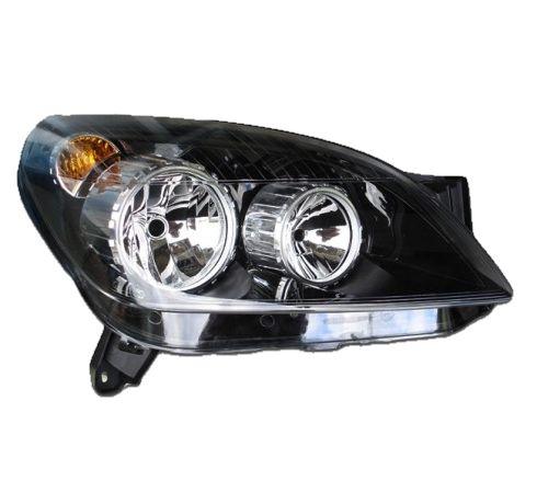 FAROL CHEVROLET GM VECTRA E VECTRA GT GTX HATCH COM MASCARA NEGRA - 2006 2007 2008 2009 2010 2011 2012 - ORIGINAL