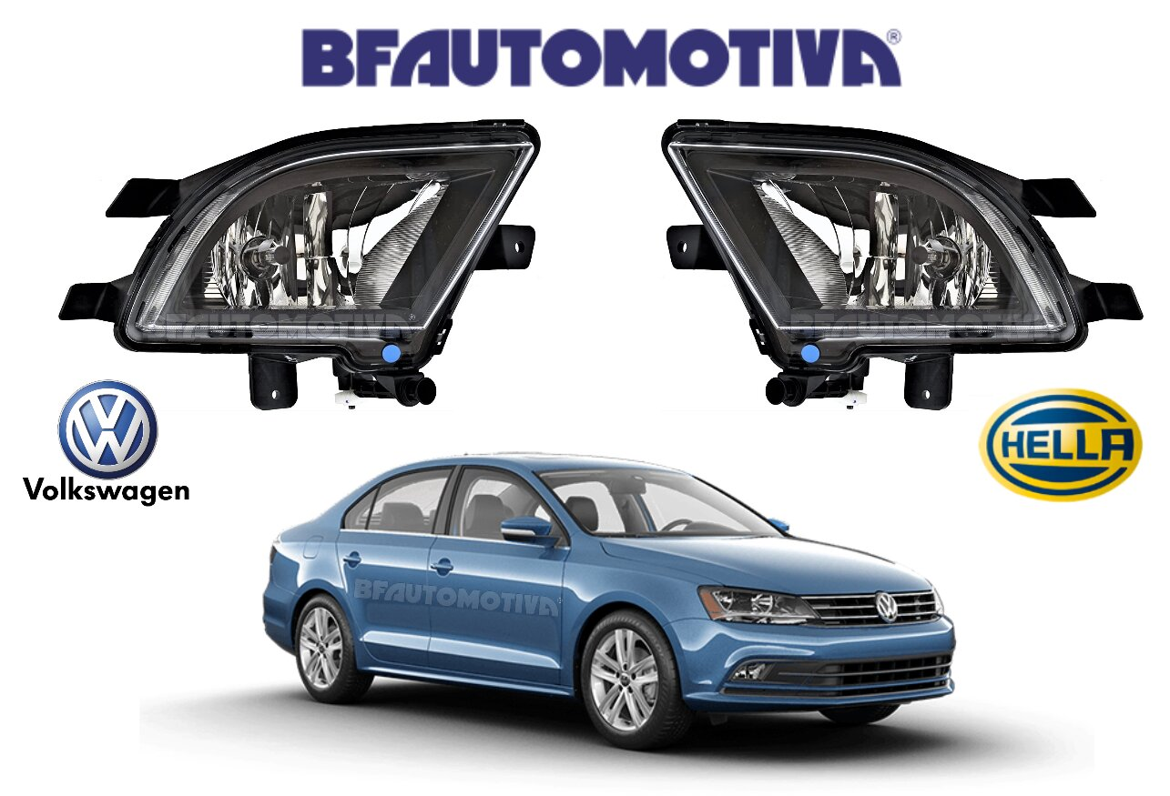 FAROL DE NEBLINA VW VOLKSWAGEN JETTA 2015 A 2018 – 100% ORIGINAL HELLA