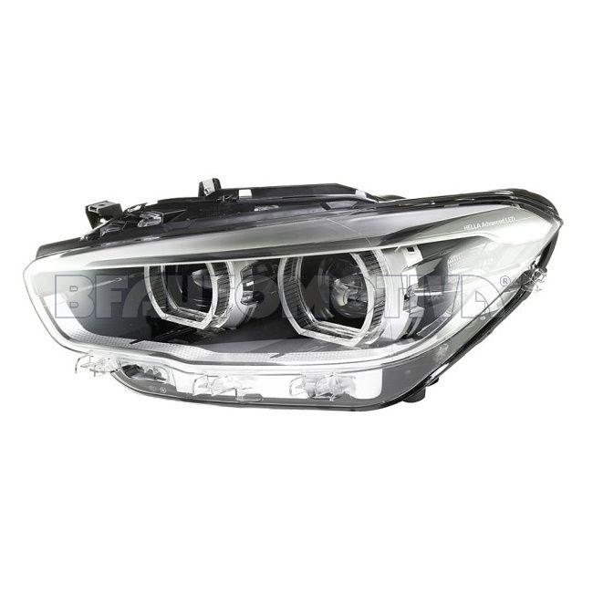 FAROL PRINCIPAL BMW SERIE 1 F20 F21 – 120I 125I M 135I M 140I – 2016 2017 2018 2019 – FULL LED - ORIGINAL