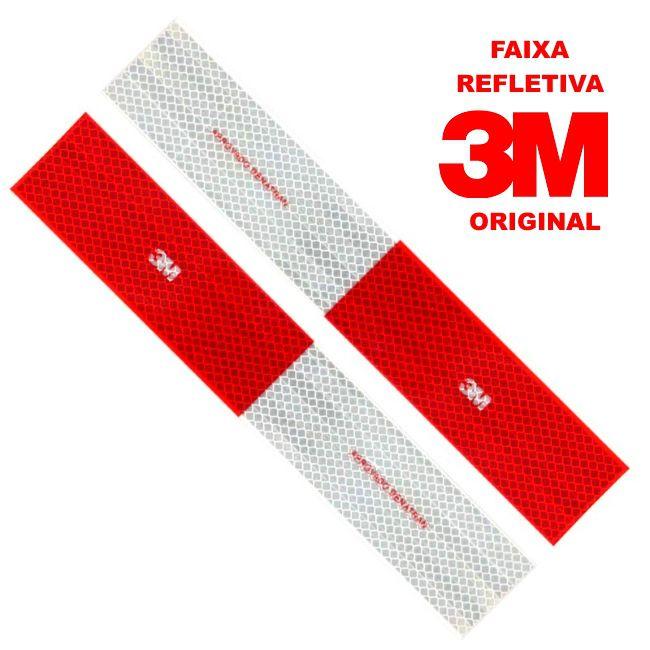 KIT FAIXA REFLETIVA 3M ORIGINAL - 10 UNIDADES
