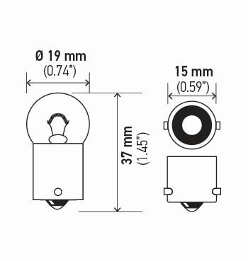 LAMPADA 12V 10W 1 POLO (67)