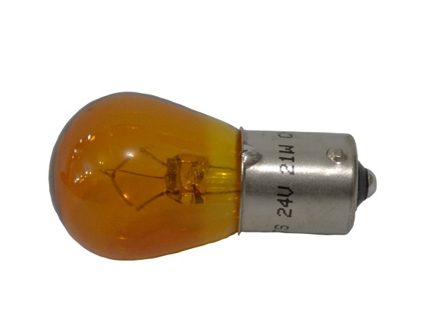 LAMPADA 24V 21W 1 POLO AMBAR