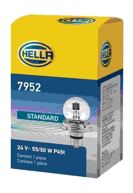 LAMPADA R2 S13 P45t 7952 24V 55/50W ASSIMETRICA ORIGINAL HELLA