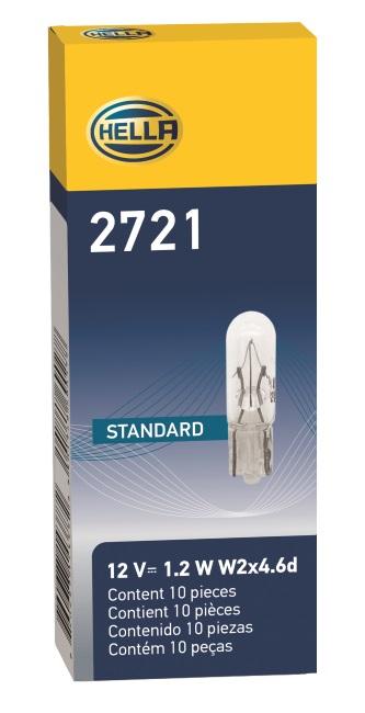 LAMPADA BASE VIDRO 12V 1,2W (2721) PEQ