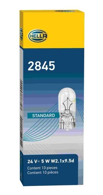 LAMPADA BASE VIDRO 24V 5W 2845 GRANDE PINGAO W5W