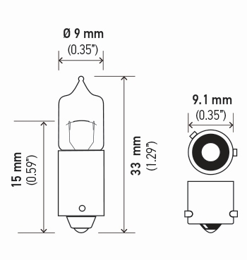 LAMPADA H21W 12V