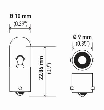 LAMPADA PAINEL 24V 4W 1 POLO (69)
